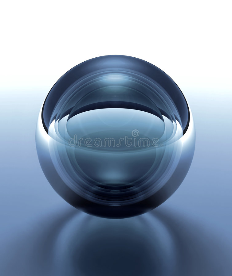 Download Crystal Sphere Royalty Free Stock Photo - Image: 7998995