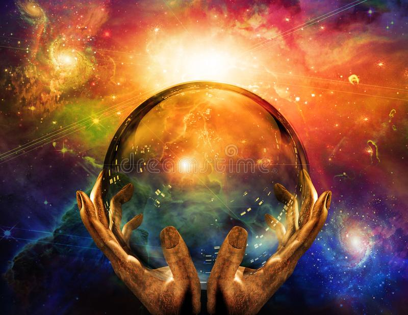 Crystal Sphere lizenzfreie abbildung