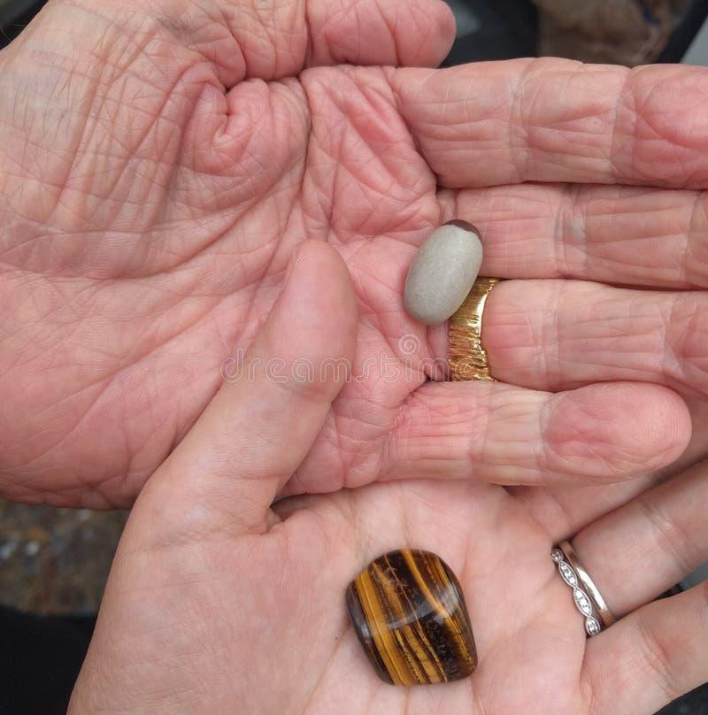 Crystal Stones Exchange imágenes de archivo libres de regalías
