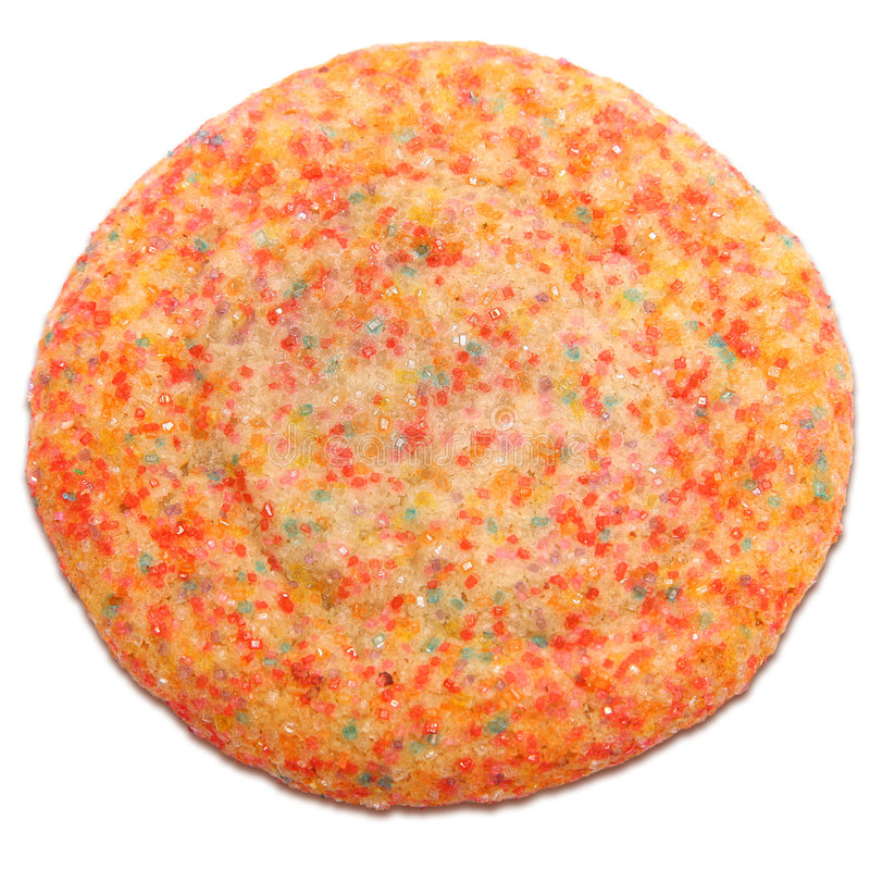 Crystal Sugar Cookie royalty free stock photography