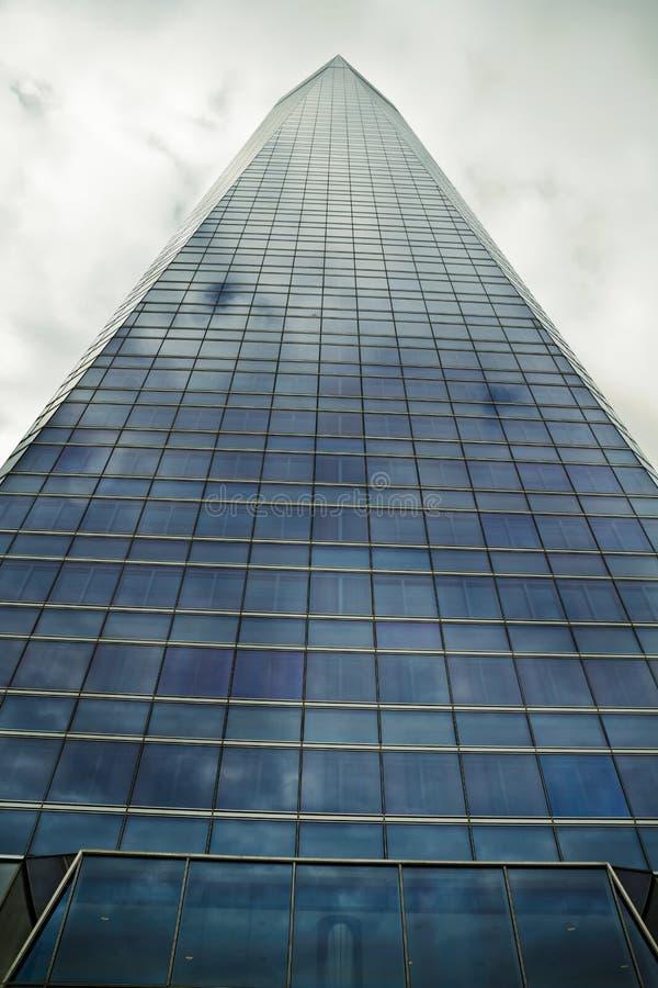 Crystal Tower, gratte-ciel de Madrid, placé dans la zone financière, f photographie stock