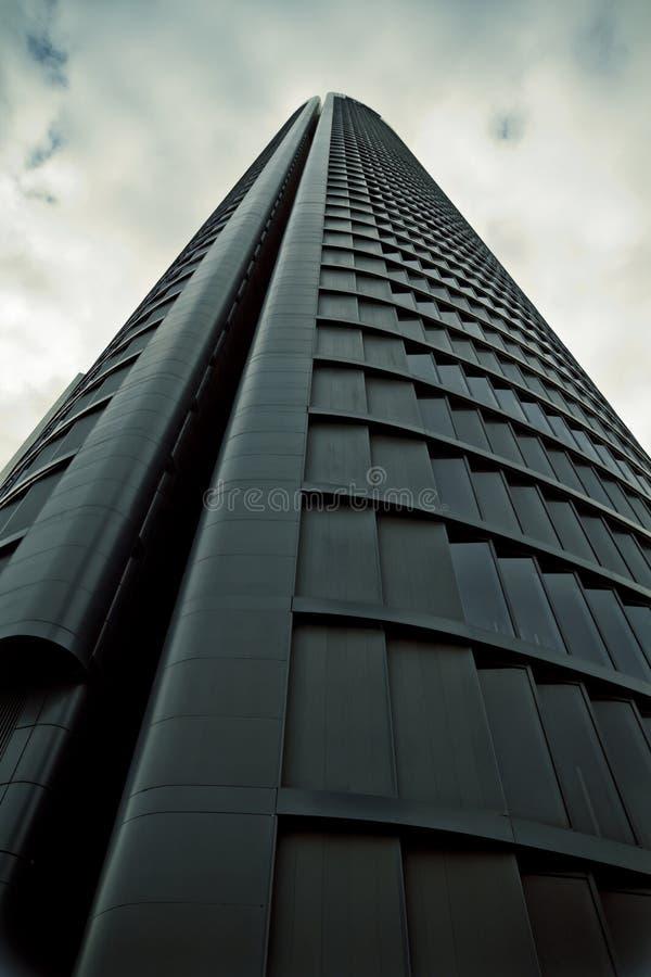Crystal Tower, gratte-ciel de Madrid, placé dans la zone financière, f image libre de droits