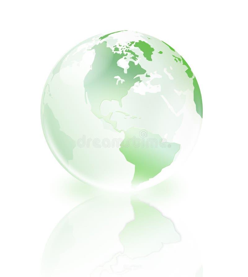 crystal värld stock illustrationer