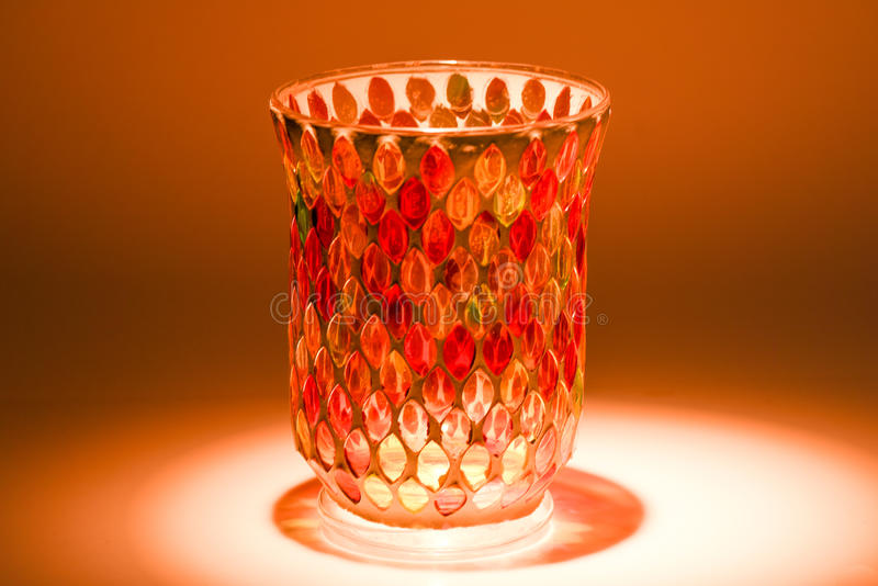 Crystal vase royalty free stock photos