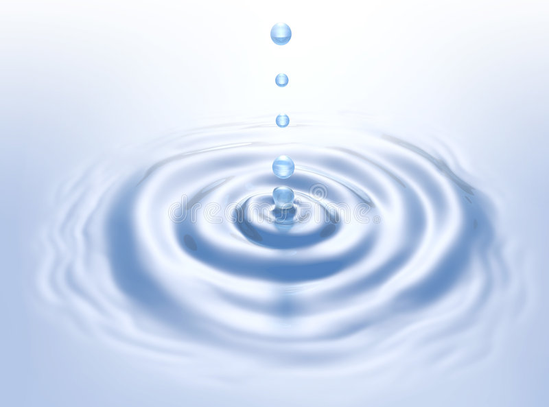 Download Crystal Water Drops stock illustration. Image of rippled - 7662787