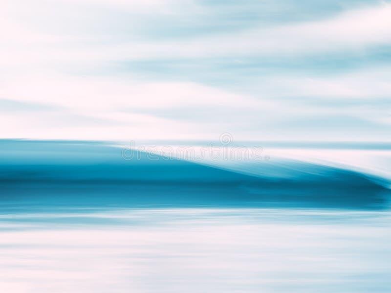 Crystal Wave Abstract fotografía de archivo