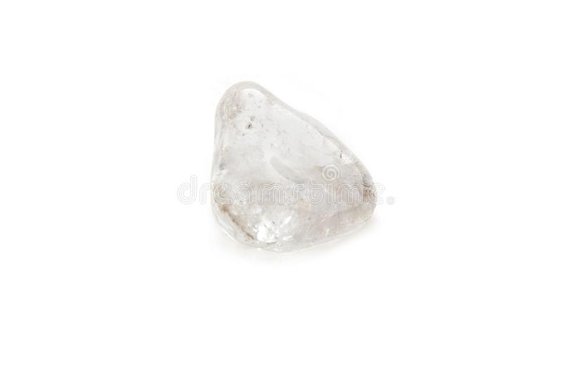 Crystal on the white background royalty free stock photos