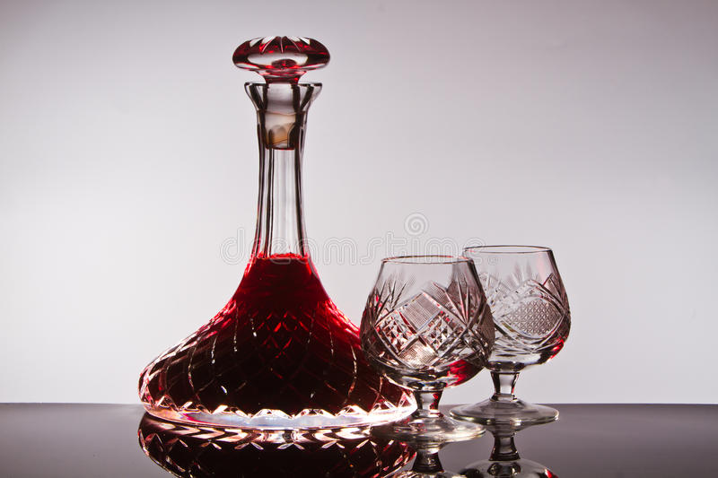 Download Crystal Wine Decanter Stock Image - Image: 25919811