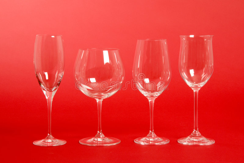 Download Crystal Wine Glasses stock photo. Image of crystals, champagne - 3387338