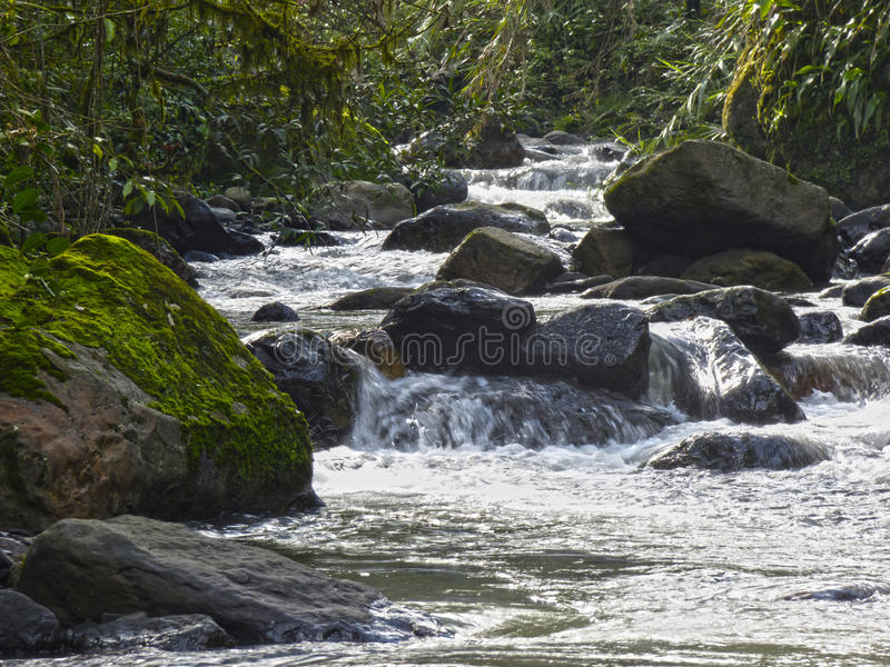 Crystalline waters stock photography