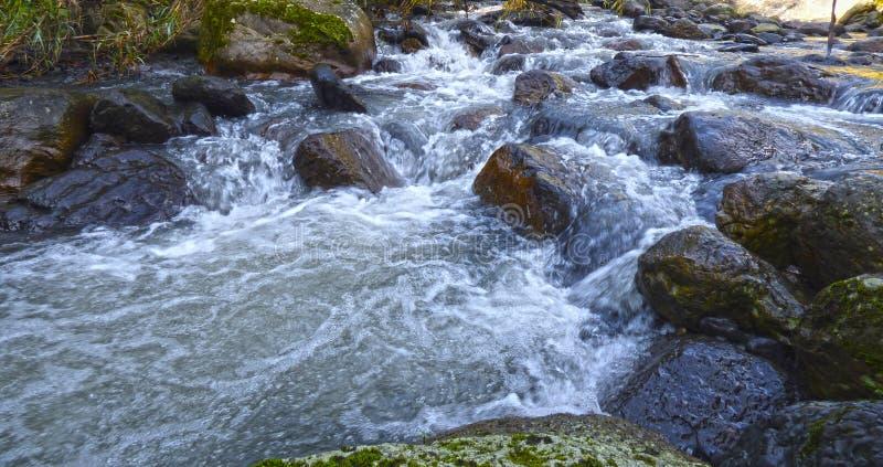 Crystalline waters stock photo