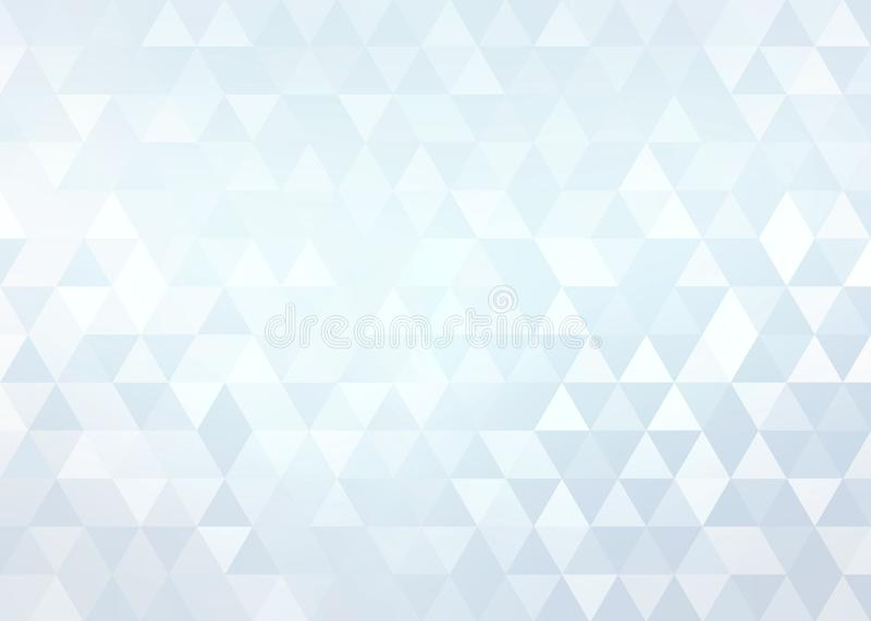 Crystals light blue brilliance background. Shiny geometric abstract pattern. Creative image for any design. Simple graphics. Great template for advertising royalty free illustration