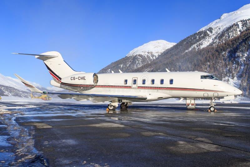 CS-CHE - Bombardierutmanare 350 - NetJets arkivbilder