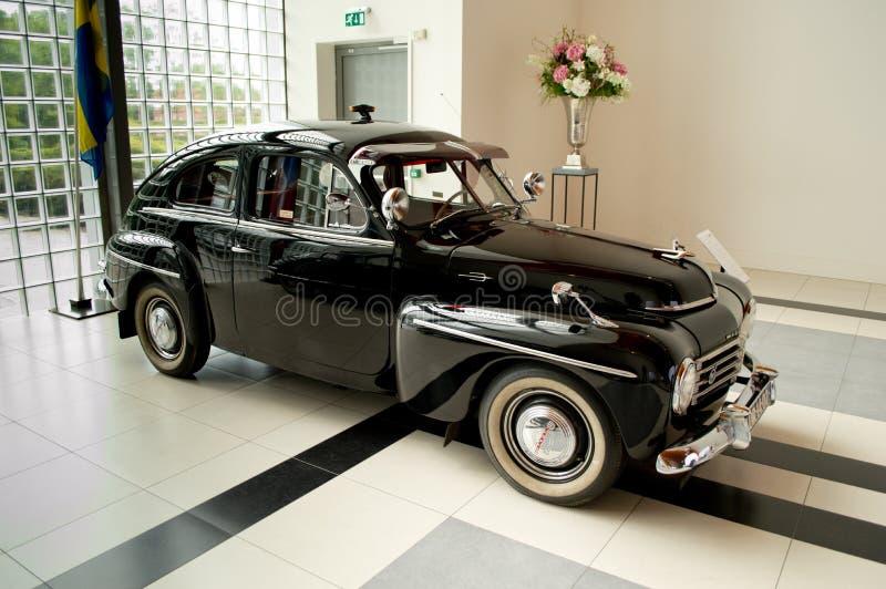 CS de Volvo PV444 no museu de Louwman fotos de stock royalty free