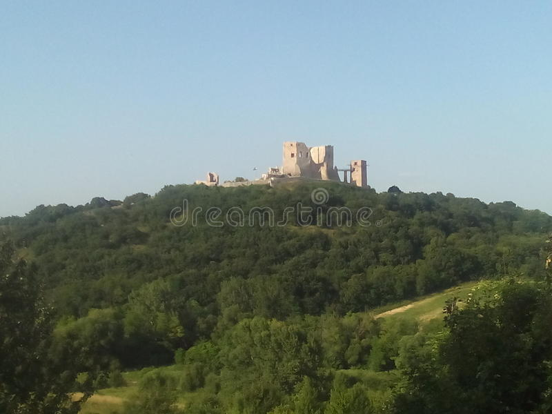 Cseszneki Castle royalty free stock image