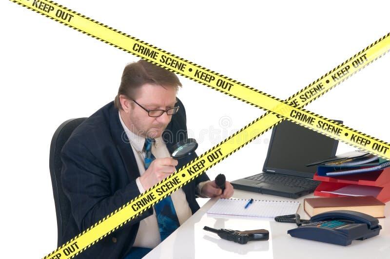 CSI Crime Scene Investigator Royalty Free Stock Photos