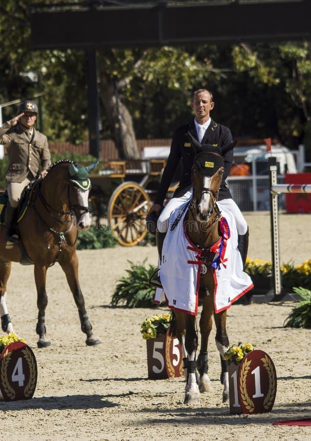 CSIO BARCELONA 2014 obraz royalty free