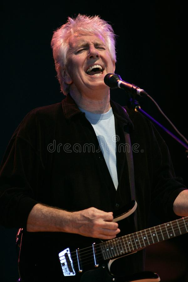 CSNY Perform in Concert royalty free stock photo