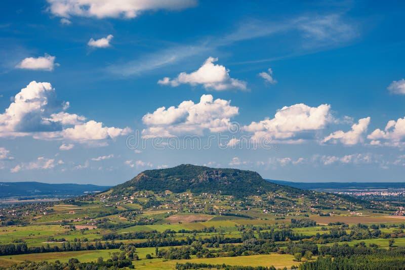 Csobanc Mountain, Lake Balaton, Hungary royalty free stock photography
