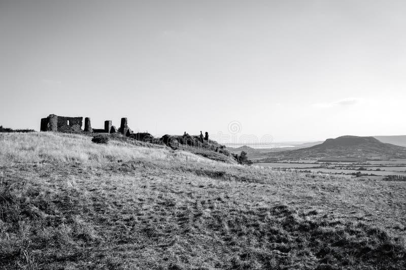 Csobanc-Schloss stockbilder