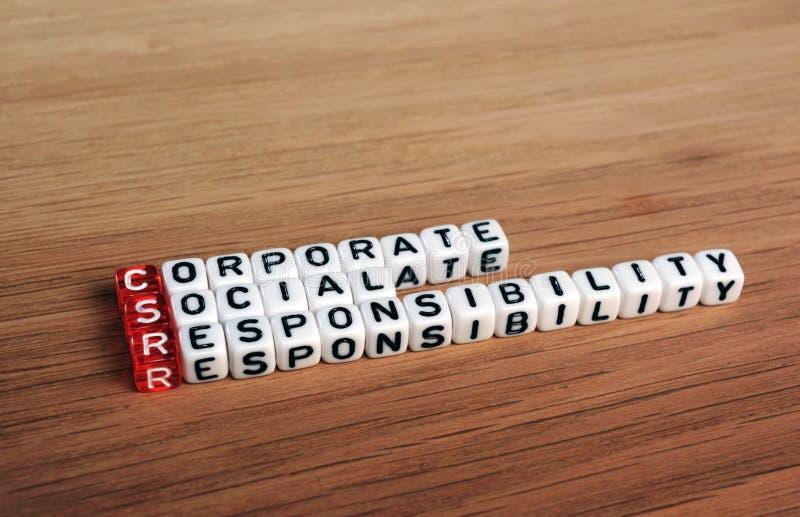 CSR стоковая фотография rf