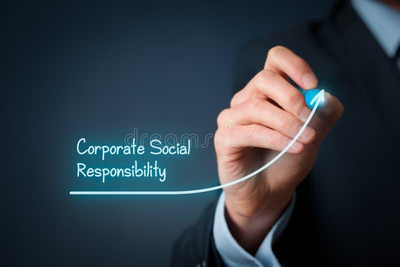 CSR pojęcie zdjęcia stock