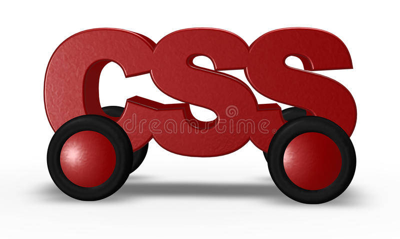 Download Css On Wheels Royalty Free Stock Images - Image: 27570349