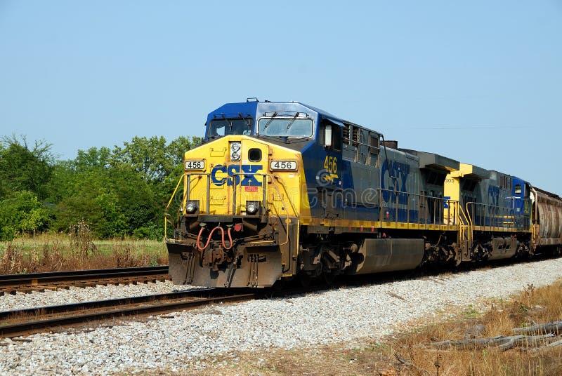 csx铁路 库存图片