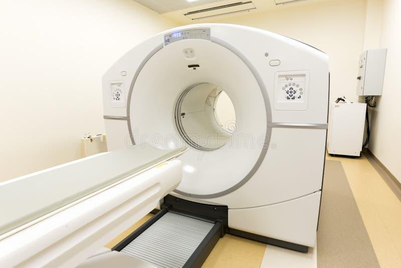 CT扫描器计算机控制X线断层扫描术 免版税库存照片