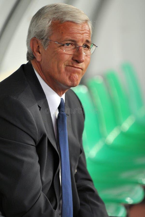 CT italiano alle qualificazioni della FIFA fotografia stock