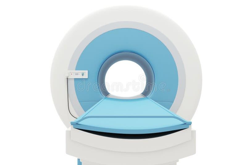 CT obrazu cyfrowego maszyna ilustracja wektor