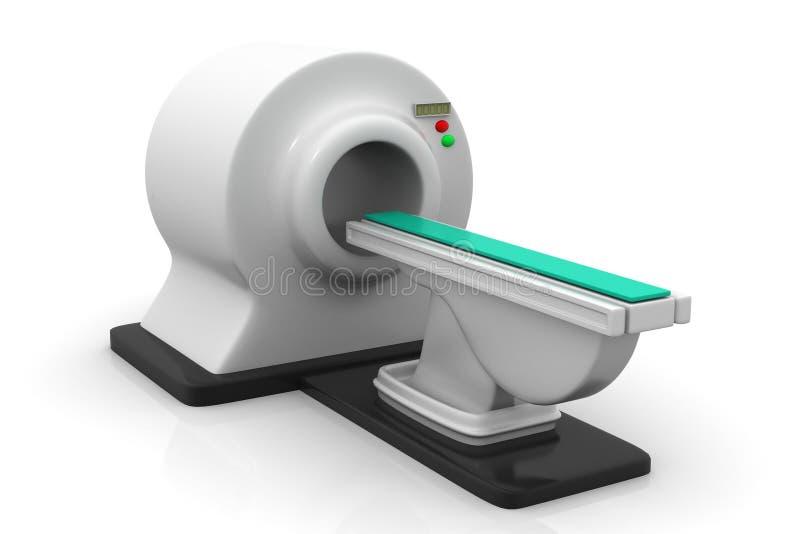 CT scanner royalty-vrije illustratie