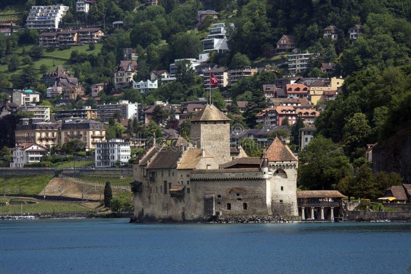 Ctateau De Chillon - Lake Geneva - Switzerland Royalty Free Stock Photo