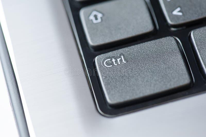 CTRL - de sleutel van de Controle stock afbeeldingen