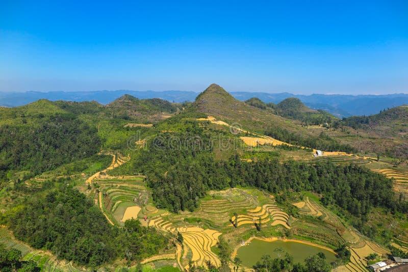 Cu легкего - граница между Китаем и Вьетнамом стоковое изображение