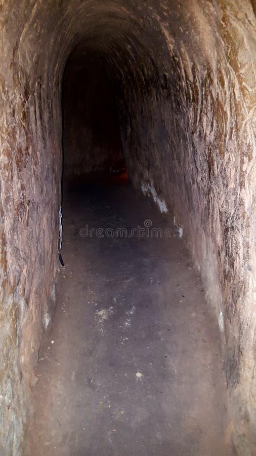 Cu Chi tunele zdjęcia royalty free