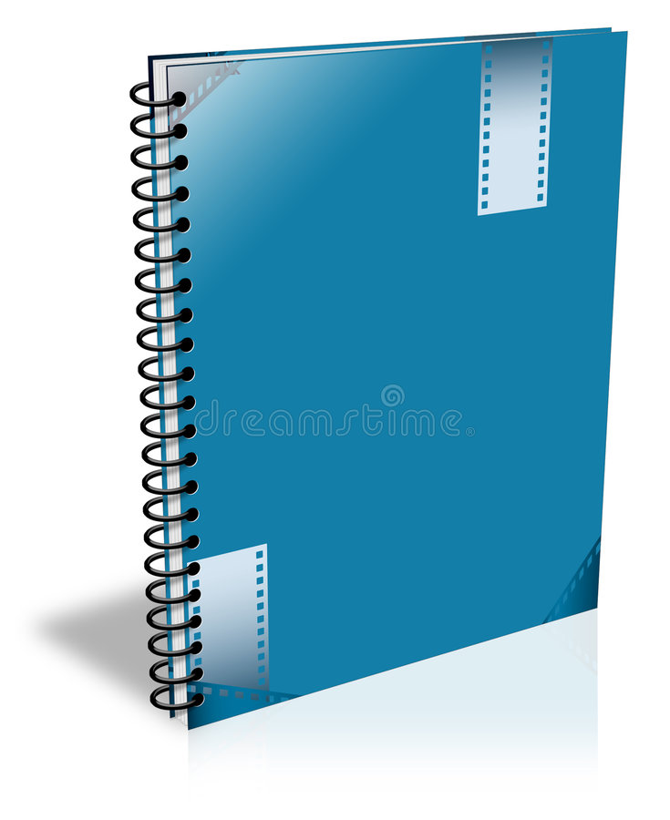 Cuaderno ilustración del vector
