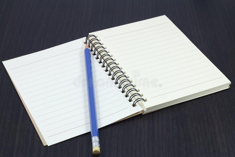 Cuaderno, fotografía de archivo