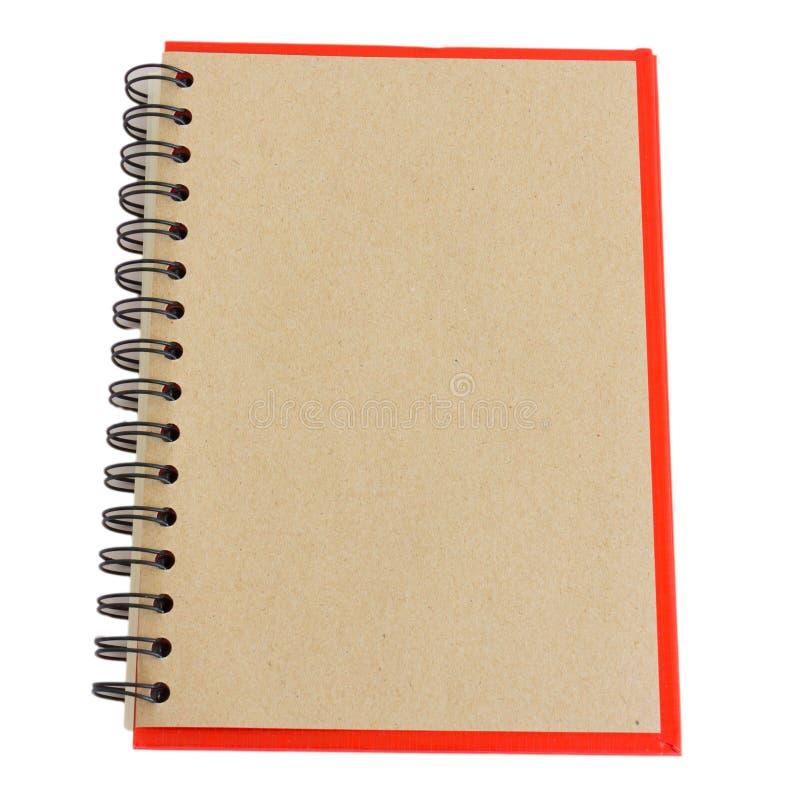 Cuaderno de Brown fotografía de archivo