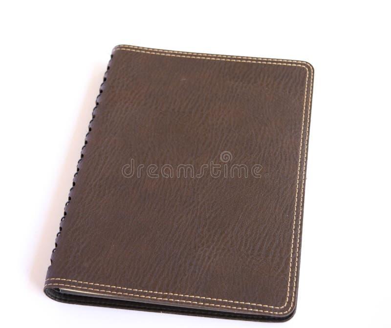 Cuaderno de Brown fotografía de archivo libre de regalías