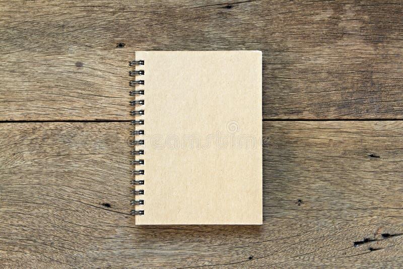 Cuaderno de Brown fotos de archivo libres de regalías