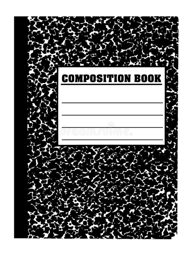 Cuaderno de la escuela ilustración del vector