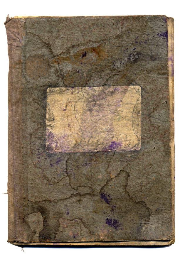 Cuaderno de la escuela vieja foto de archivo libre de regalías