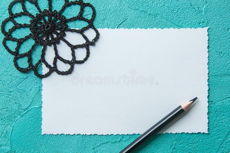 Download Cuaderno De Notas En Blanco Blanco Imagen de archivo - Imagen de mensaje, decoración: 100533489