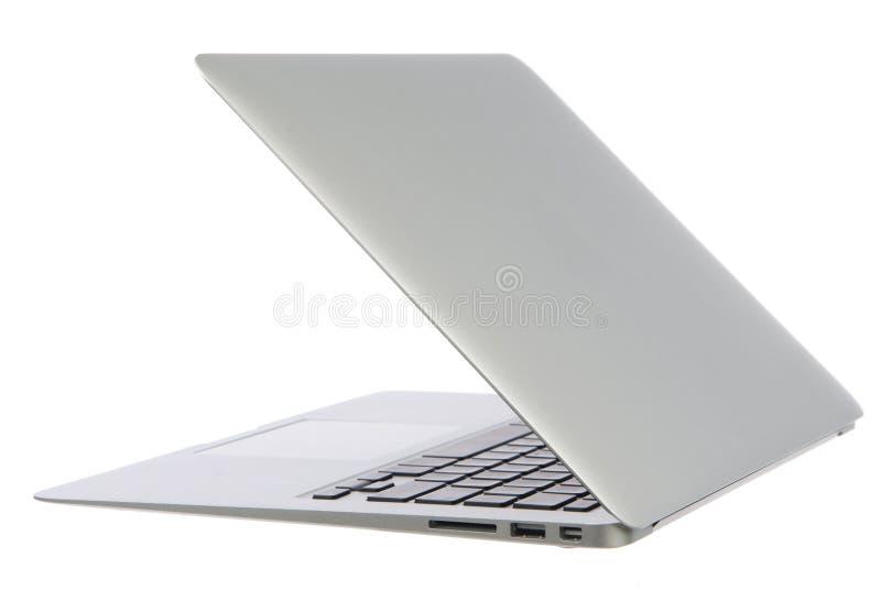 Cuaderno moderno del ordenador portátil foto de archivo libre de regalías