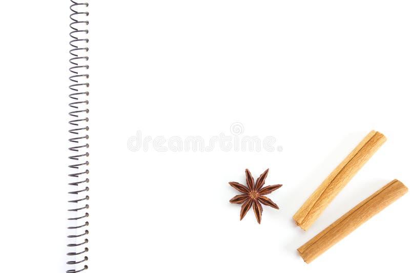 Download Cuaderno para las recetas foto de archivo. Imagen de brillante - 41905212