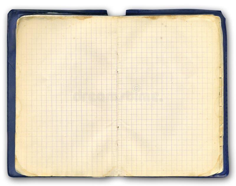 Cuaderno viejo imagen de archivo libre de regalías