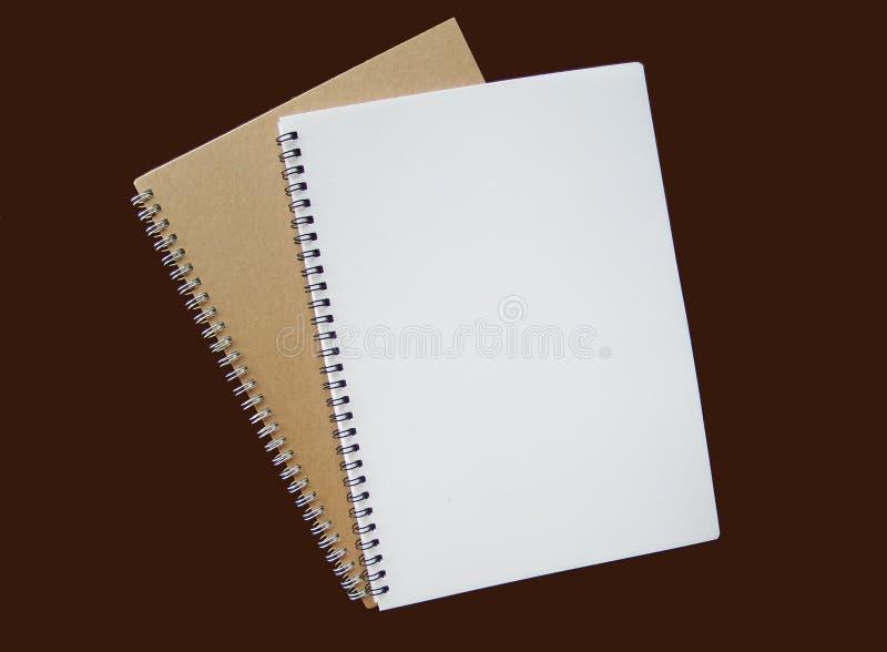 Cuadernos espirales imagen de archivo