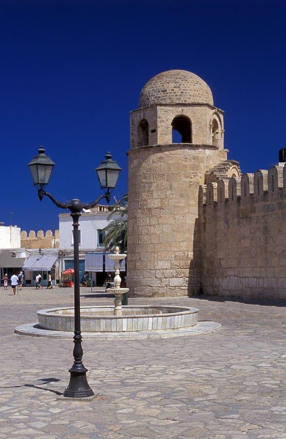 Cuadrado de ciudad árabe imagen de archivo