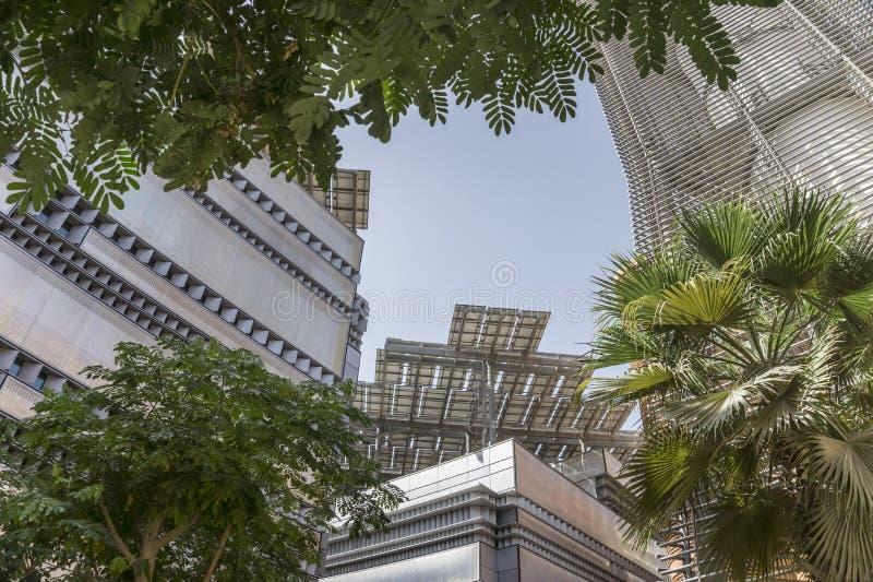 Cuadrado de ciudad de Masdar fotos de archivo libres de regalías
